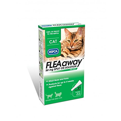 RSPCA FleaAway Spot On Solution for Cats