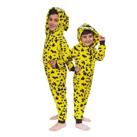Mani Textile Combinaison, déguisement, Costume, Pyjama Enfant Marsupilami - 9/10 Ans