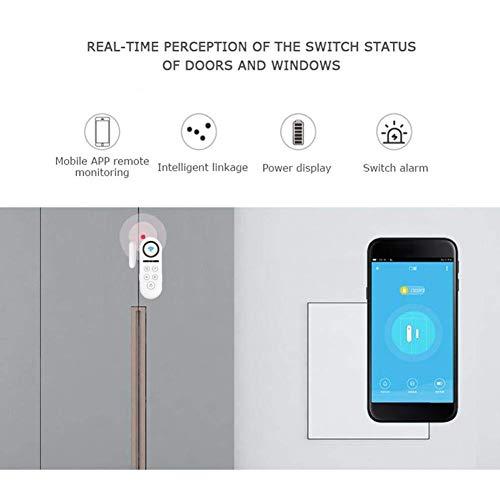 CUHAWUDBA Inalambrico Sensor de seguridad de ventana puerta magnetica Alarma antirrobo de entrada//Remoto control