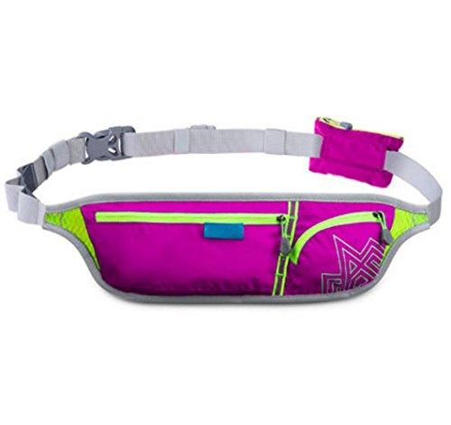 OOFWY Sport Running Bag Waist Pack Bum Tasche Outdoor Camping A