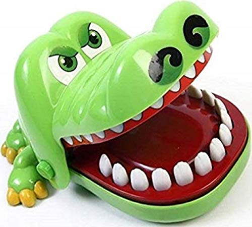 Krokodil Spiel Crocodile Dentist Kroko Doc Geschicklichkeitsspiel KAYMAN Aktionsspiel Partyspiel Gesellschaftsspiel mit hohem Spaßfaktor wie Hugo Affenalarm Zahnarzt Reflex Game Familienspiel