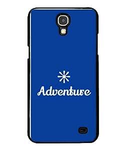 PrintVisa Designer Back Case Cover for Samsung Galaxy Mega 2 SM-G750H (Background Notes Graphic Adventure White Design Star)