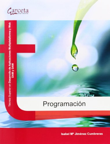 Programación (Texto (garceta)) por Isabel Mª Jiménez Cumbreras