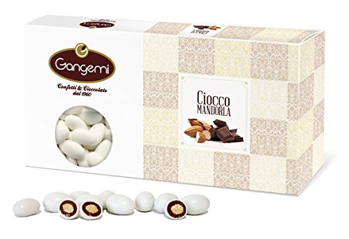 Gangemi Confetti - 1kg Delicate Wedding Sugared Chocolate Almonds Dragees