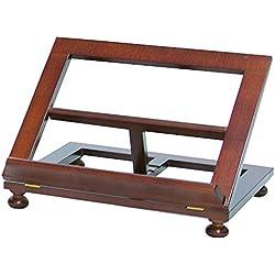 Atril de mesa madera de nogal 35x28 cm