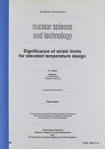 Significance of Strain Limits for Elevated Temperature Design (Temperatur Limit)