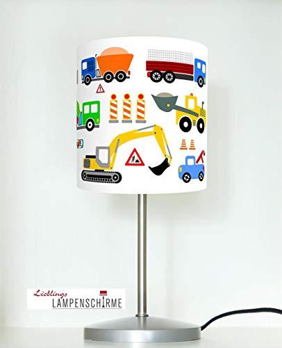 Tischlampe Kinderzimmer Baustelle