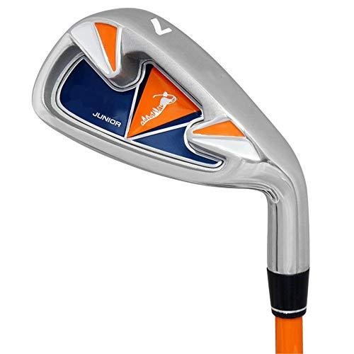 MOMIN-SP Golfschläger tragen Alloy Golf Practice Club Premium Golfputter-Set Strapazierfähiger Indoor- und Outdoor-Golf-Putter für Herren Golf-Übungsputter (Farbe : 6-8Age-Orange, Größe : No.7)