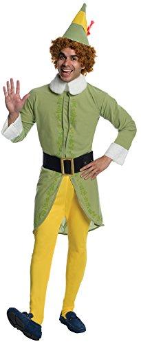 Rubie's Buddy Elf Kostüm für Herren (Buddy Elf Für Erwachsenen Kostüm)