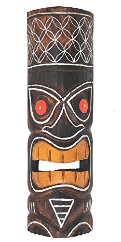 Tiki-pared-Mscara-50-cm-en-Hawaii-Look-Madera-Mscara-Hawaii-Maui-Mscara-Isla-de-Pascua-Kauai