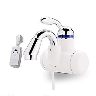 Sofortiger elektrischer heißer Wasser-Hahn Badezimmer 220V klassischer sofortiger Behälterless elektrischer Warmwasser-Hahn-Hahn , white