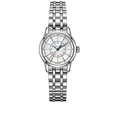 Hamilton Women's Analogue Quartz Watch with Stainless Steel Strap H40311191