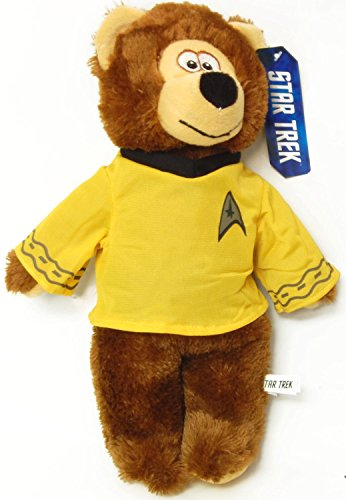"Official Star Trek 20"" Plush Bear - Captain Kirk"