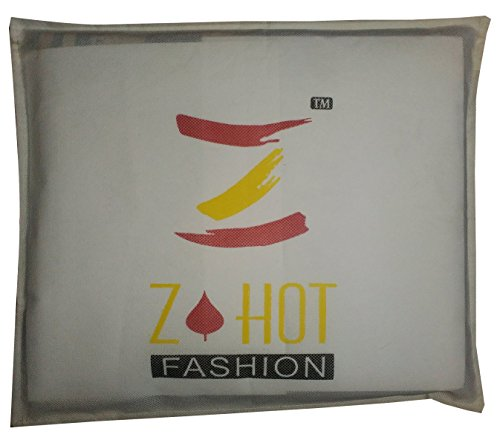 Z Hot Fashion Women's Georgette Saree (ZHAY1006A_Multicolor_Free Size)
