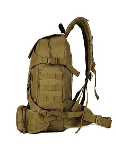 Zll/Outdoor Combo Pack Multifunktions Tactical Rucksack Military Enthusiasten Taschen Camo Rucksäcke Riding Beige