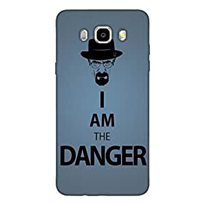 GripIt Breaking Bad Danger Back Cover for Samsung Galaxy J5 (2016)