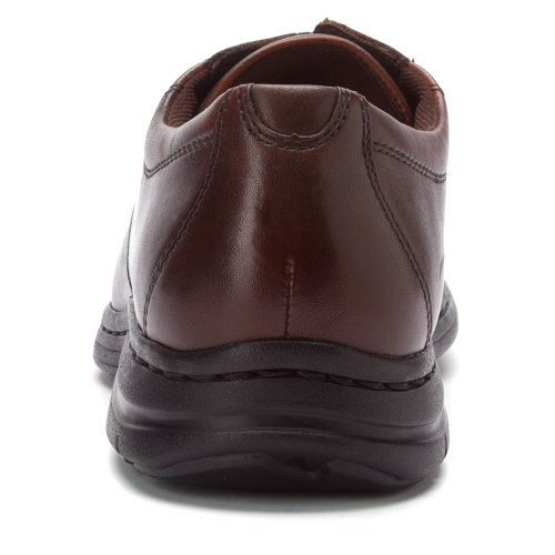 Dunham Mens Bryce Bikefront Brown Smooth Oxford 10 B (N) Brown Smooth