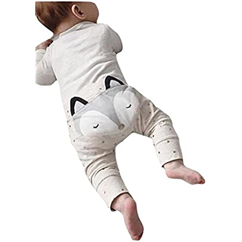 Oyedens Baby per bambini 3d Harem pantaloni Fox Molding Baby Lovely pantaloni