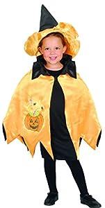 Carnaval Flores Paul 62306 - Mantellino Pequeño monstruo de Halloween, la bruja/Zucchetta bebé reversible