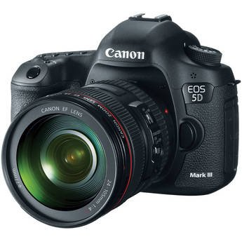 Canon EOS 5D Mark III 24 - 105 Kit Digital SLR (DSLR) Camera - Canon Kamera Digital Neueste