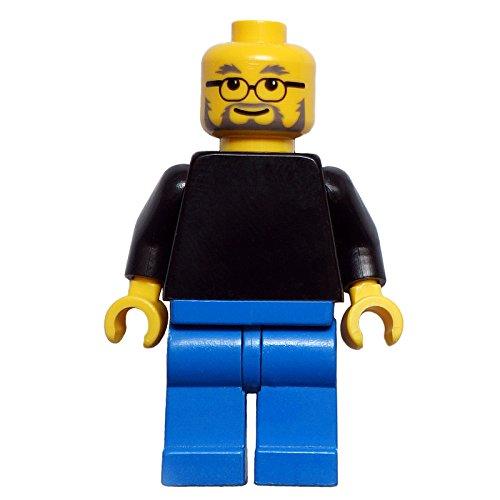 Steve Jobs Figur | exklusive LEGO Figur vom Apple Gründer und Computer-Visionär | FamousBrick | Gadget für Mac und iPhone Liebhaber