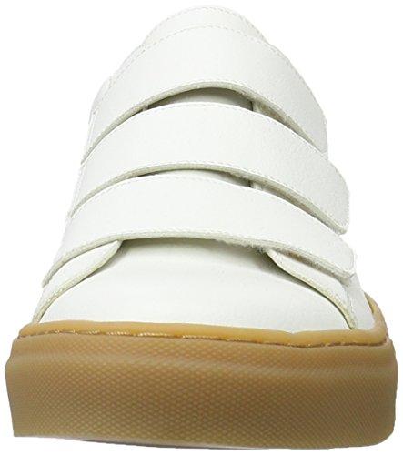 Jonny`s Vegan - Lluvia, Pantofole Donna Bianco (Bianco )