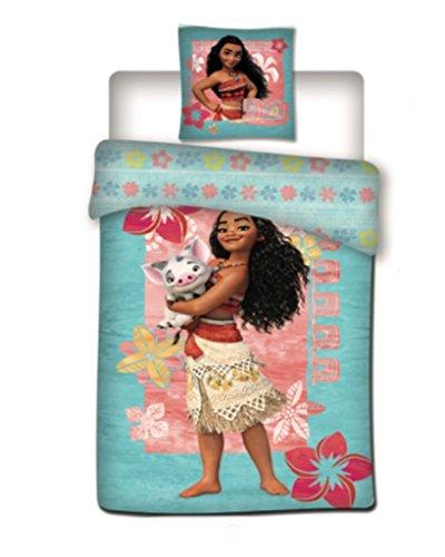 Vaiana - Vaiana housse de couette + taie d oreiller 140x200cm / 63x63cm nouveauté parure de lit idee cadeaux