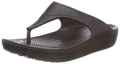 Bild von crocs Damen Sloane Platform Flip Offene Sandalen mit Keilabsatz