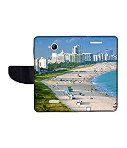 KolorEdge Printed Flip Cover For CoolPad Dazen Note 3 Multicolor - (1479-55KeMLogo10801DazenNote3)