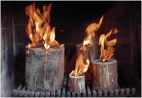 *BOOMEX ECOFLAME Ecoflame® – Das Schwedenfeuer Original 435 Display 24 Tlg Neu*