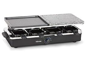 Tristar RA-2992 - Raclette y parrilla de piedra para 8 personas de Tristar