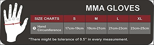 RDX MMA Rindsleder Handschuhe UFC Sparring Kampfsport Sandsackhandschuhe Grappling Trainingshandschuhe Abbildung 3