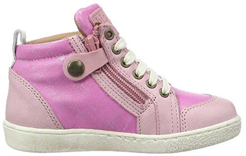 Bisgaard Schnürschuhe, Sneakers basses mixte enfant Pink (4016 Pink)