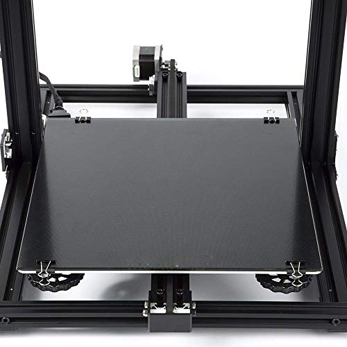 cctree Creality Upgraded 3d printer Ultra base Bed Glass Build superficie For Ender 3