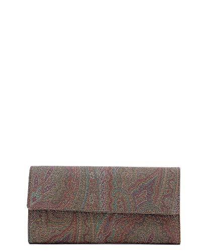 Etro Portafoglio Donna 0H7988010600 Pelle Multicolor