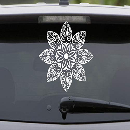 Mandala Apliques de Flores Coche de Encaje Flor Hippie semilla Vida He