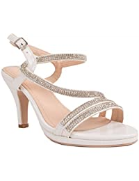 12f8072ba92 Amazon.fr   strass - Sandales   Chaussures femme   Chaussures et Sacs