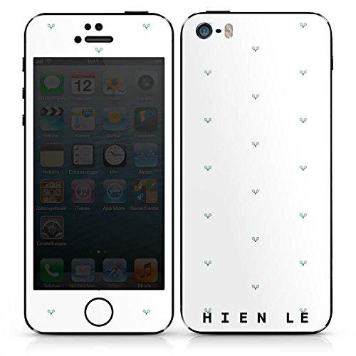 Apple iPhone SE Case Skin Sticker aus Vinyl-Folie Aufkleber HIEN LE Fashion Mode DesignSkins® glänzend