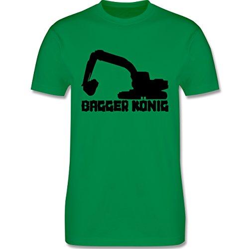 Andere Fahrzeuge - Bagger König - Herren Premium T-Shirt Grün