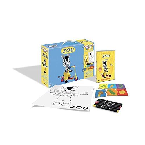 Zou - Je m'éveille avec... (DVD+Puzzle+6 Crayons pastels + Poster)