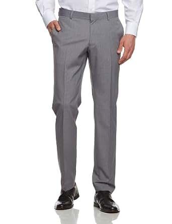 ESPRIT Collection Herren Anzughose Slim Fit 063EO2B001, Gr. 44 (XS), Grau (039 camp grey)