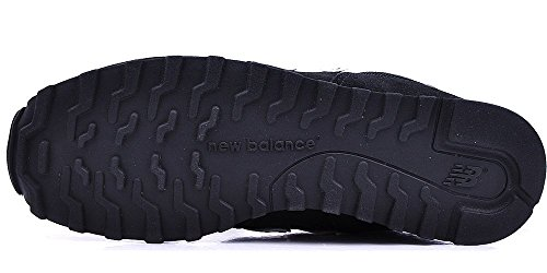 New Balance Damen 487661 50 Sneaker Schwarz Pink