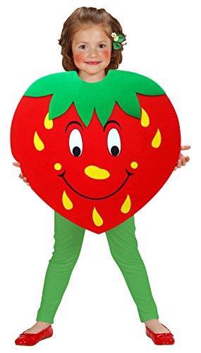 WIDMANN-cs881269-Kostüm Erdbeere Größe 98116cm 2/5Jahre