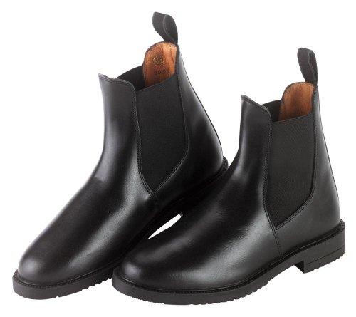 Covalliero 327513 Reitstiefelette, schwarz (black) Leder, Gr. 38 Schwarz