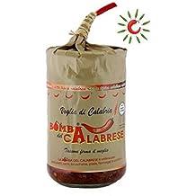 Bomba del Calabrese Piccante Peperoncino Melanzane Funghi Pomodori Secchi 280 gr.