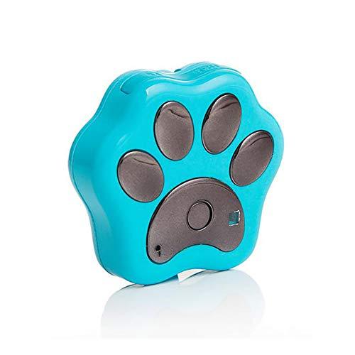 QNMM Mini GPS Smart WiFi Perseguidor de Mascotas Impermeable Mascotas GPS Flash Collar Localizador Anti-Perdido