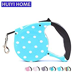 Generic Color 009, 5m : Retractable Dog Leash 5m Automatic Dog Belt Pet Leashes For Dogs And Cats Animals Puppy Supplies Accessories ENA008