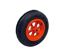 ORANGE Speichen 4 PLY Sackkarren, Rollwagen, pneumatische Reifen 4.00-8 4,80, 40.64 cm