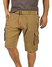 INDICODE Costa Herren Shorts Cargoshorts kurze Hose mit Gürtel