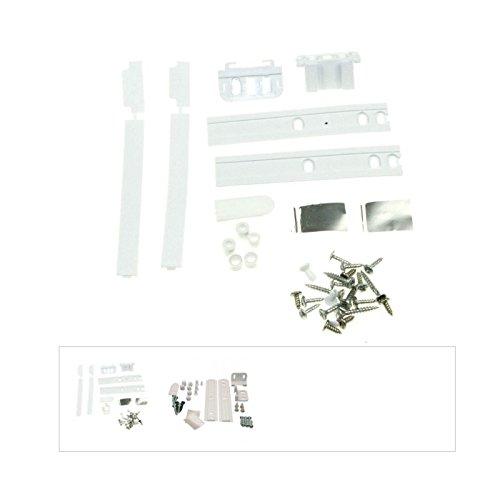 Whirlpool-Kit de fijación para puerta de nevera, con sistema guías, para Whirlpool